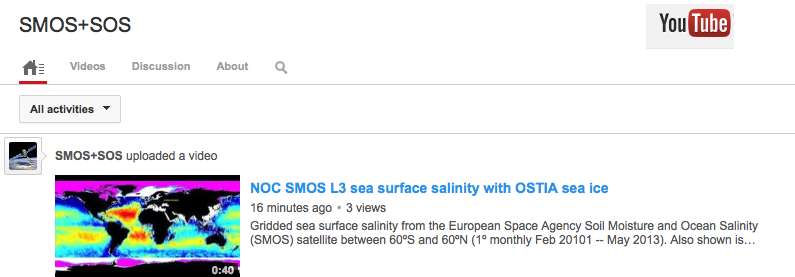 SMOS+SOS YouTube page image
